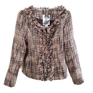 Nick & Mo | Anthropologie Cropped Tweed Jacket NWT